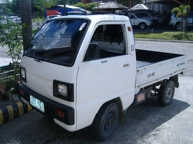 Multicab Pick Up Type