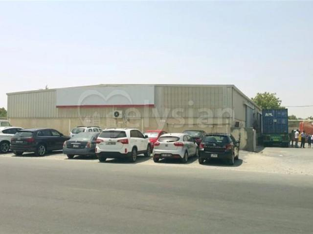 Multiple Fitted Warehouse Units Aed 9,000,000