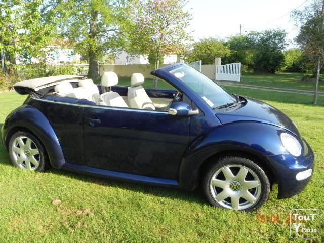 cabriolet new beetle bleu carat mitula voiture. Black Bedroom Furniture Sets. Home Design Ideas