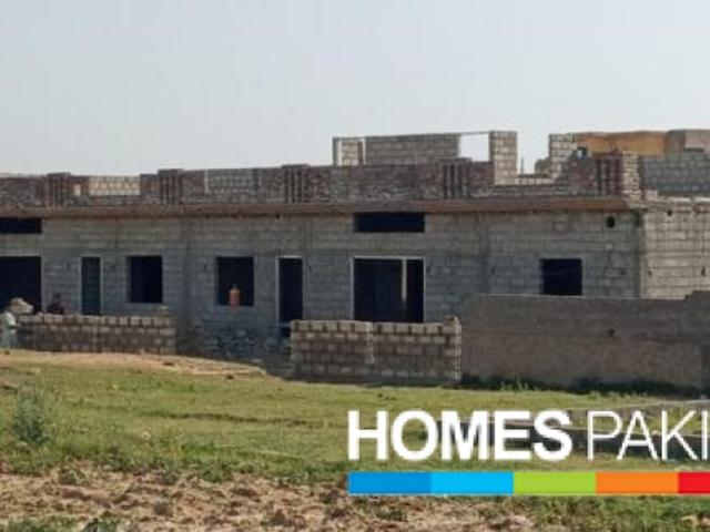 New Build Modern Design Semi Detached Residential Single Storey Ith Rooftop