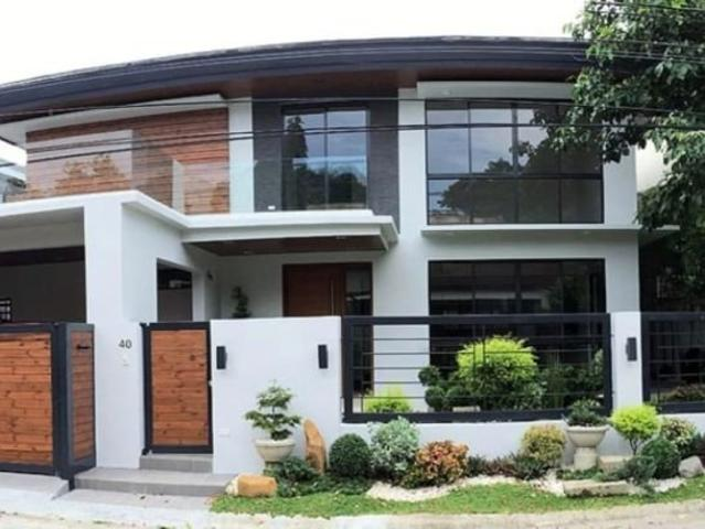 New Modern House For Sale In Bf Homes, Paranaque City