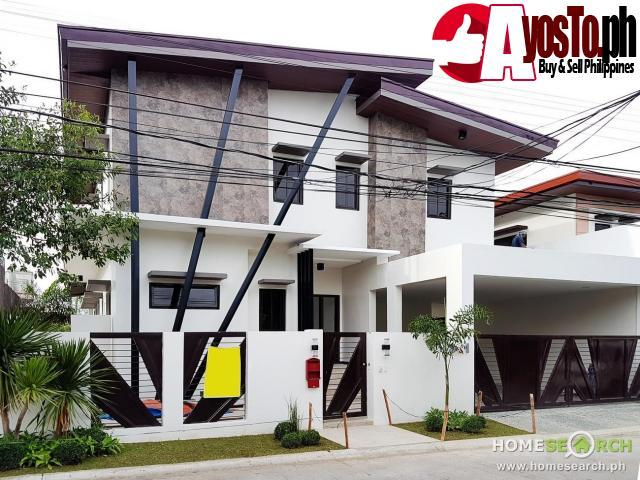 Newly Built Contemporary 2 Storey Home In Bf Homes Real Estate