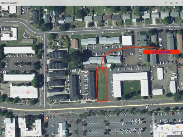 Nicely Located 0.39 Acre High Density Zoned Lot In Corvallis Corvallis