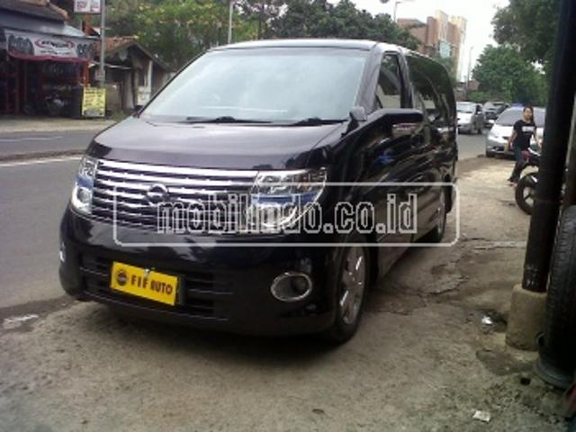 Nissan elgrand highway star elgrand 2 5 at