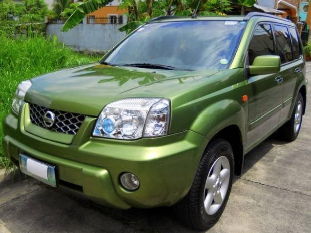 nissan x trail green 2005 metro manila mitula cars. Black Bedroom Furniture Sets. Home Design Ideas