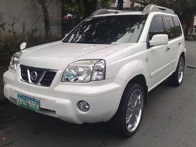 nissan x trail manila 8 white nissan x trail used cars. Black Bedroom Furniture Sets. Home Design Ideas