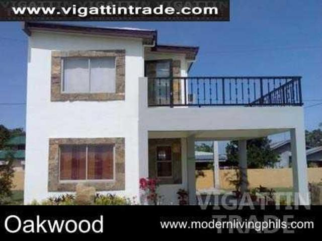 Oakwood House Model House And Lot For Sale In Carmona Cavite