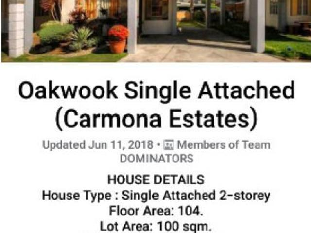 Oakwood Single House With 4 Bedrooms, 2 Parking Lot And 2 Toilet And Bath