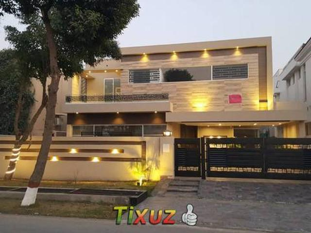 One Kanal House Brand New For Sale State Life Housing Society Lahore