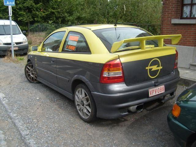 Opel astra 7 opel astra tuning d occasion mitula voiture for Opel astra g interieur