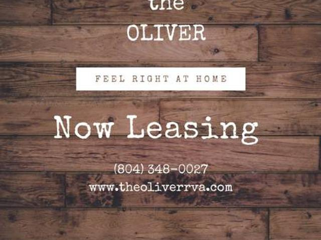 Open Today, The Oliver Apartments Call To Schedule A Tour Richmond