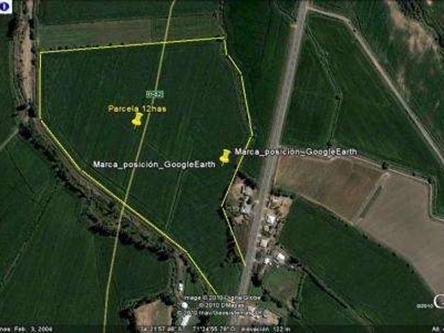 Oportunidad,6ta Region,parcela De 12has En El Toco Pichidegua
