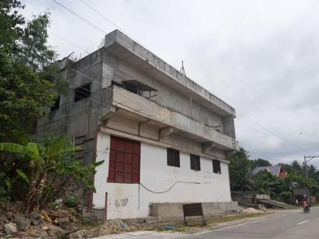 Overlooking The Sea 3 Floor Building Along Nat'l Highway   Boholana Realty