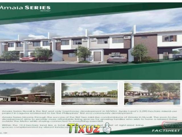 Own Your New Home In Amaia Series Nuvali