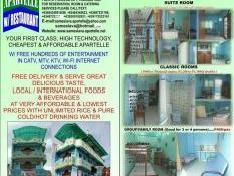 P300/person/day Min. Rate, Apartelle/room For Rent At Sameslava Apartelle/resto