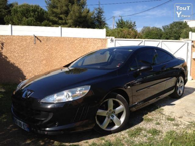 peugeot 407 coupe hdi toit ouvrant mitula voiture. Black Bedroom Furniture Sets. Home Design Ideas