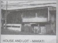 Philippines Bank Foreclosure: 2 Storey House & Lot In Kalayaan Ave. Makati City