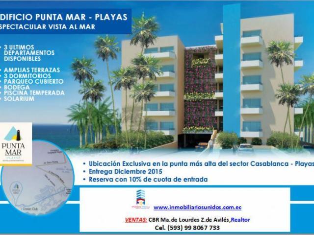 Playas. Se Venden Departamentos Edificio Punta Mar Departamento En Venta En Playas