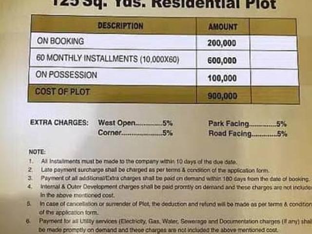 Plot Is Available For Sale In Shangrila City