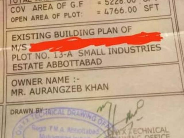 Plot No 13a Small Industry Abbottabad Available For Rent