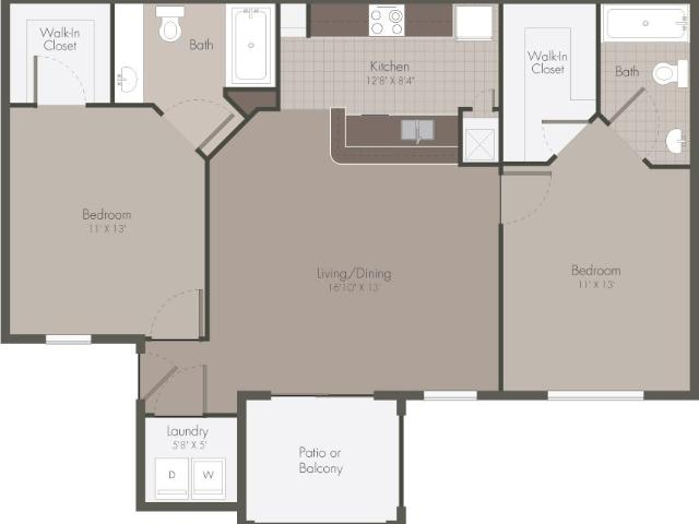 Polos At Hudson Corners Two Bedroom