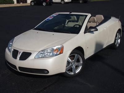 Pontiac G6 In Jackson Used Convertible Mitula Cars