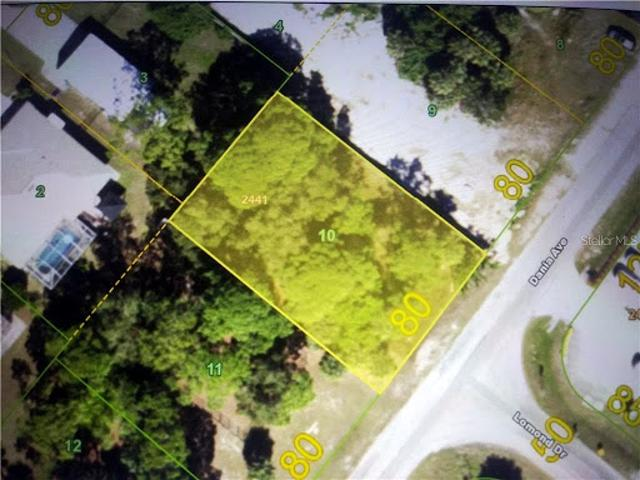 Port Charlotte, This Vacant Lot Is Located In A Rmf 10