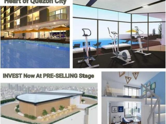 Pre Selling Condo In Timog, Quezon City