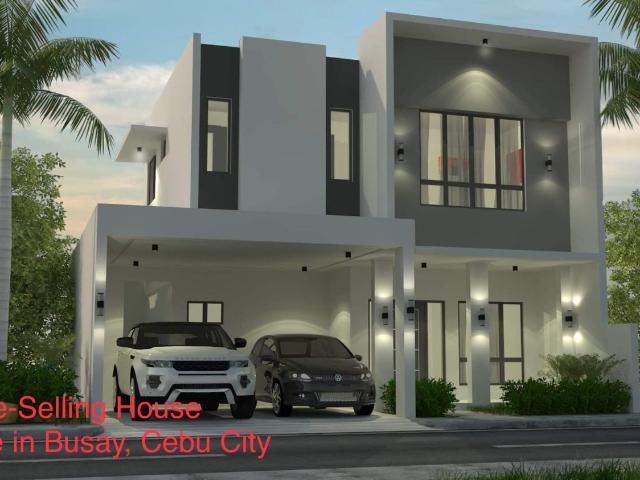 Pre Selling, House For Sale In Busay, Cebu City. Overlooking Lush Greens Inside Subdivision