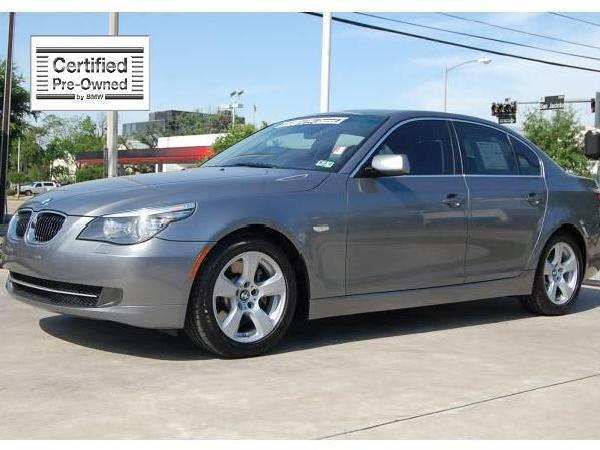 Gray 2008 Bmw 5 Series Used Cars In Houston Mitula Cars