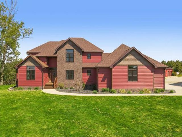 Price Reduced This Sprawling 7 Bedroom, 5 Bath Meticulously Built Home 17582 Leroy Rd Leroy
