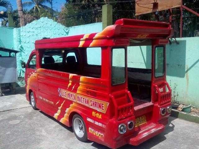 Private Suzuki Multicab Passenger Jeepney Box Type For Sale Tagbilaran
