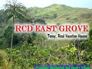 Rcd East Grove: Economic House And Lot For Sale In Tanay Rizal