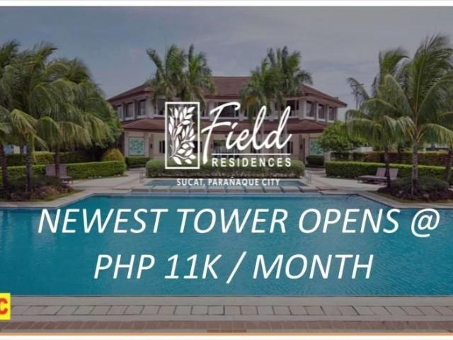 Re Open 2bedrooms Unit In Field Residences Near Airport 5%dp To Move In Only Rush Rush