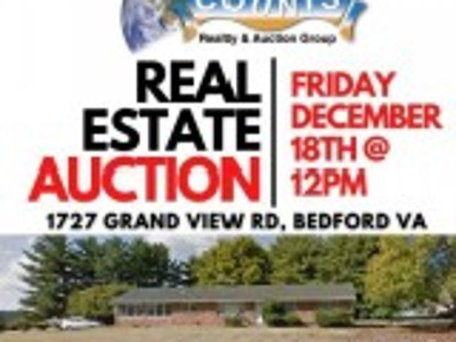 Real Estate Personal Property Auction Bedford