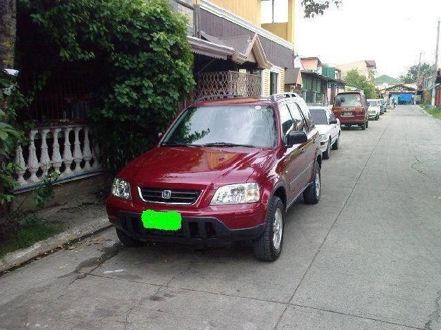Red Honda Crv 1998 Automatic Transmission Trade In Ok