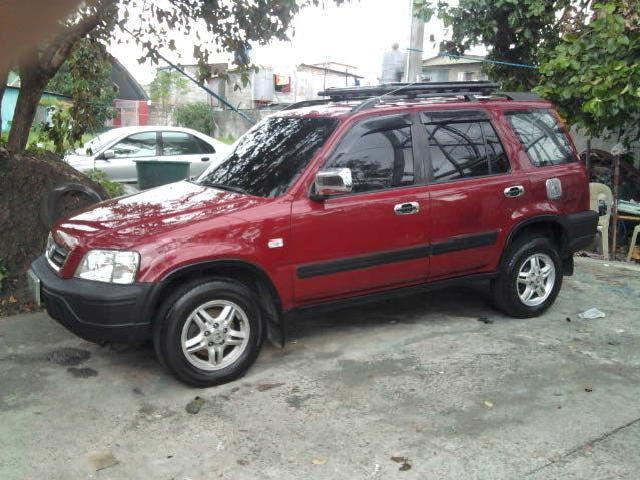 Red honda crv 98 automatic trade in ok