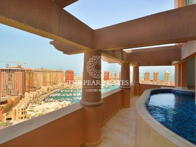 Request Virtual Tour | Swimming Pool | Marina View