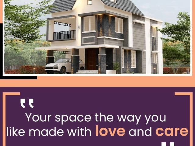 Resale | 4 Bhk + Pooja Room 2100 Sq.ft. Independent House In Paravattani