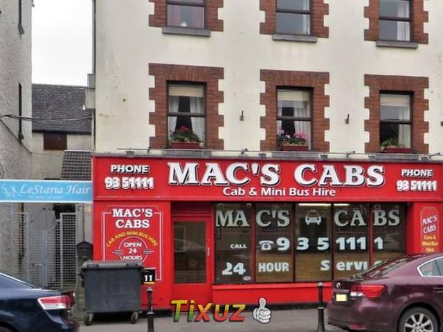 Residential Commercial Property Mac S Cabs Columcille Street Tullamore Co Offaly
