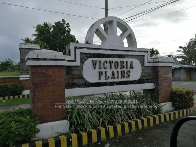 Residential Lot For Sale In Victoria Laguna Victoria Plains