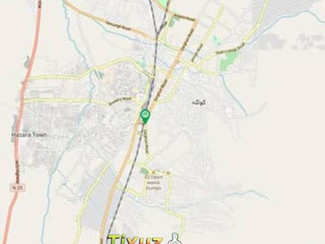 Residential Plot For Sale On Installment At Agha Jee Azizia City Quett