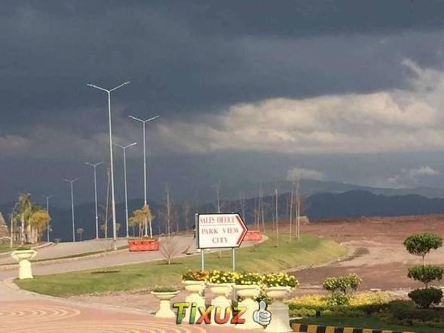 Residential Plot Of 5 Marla For Sale In Park View City Islamabad
