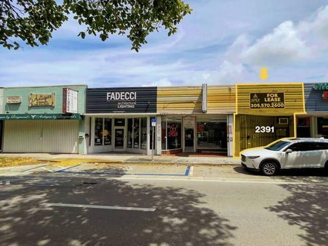 Retail Space In Coral Way Coral Gables, Fl