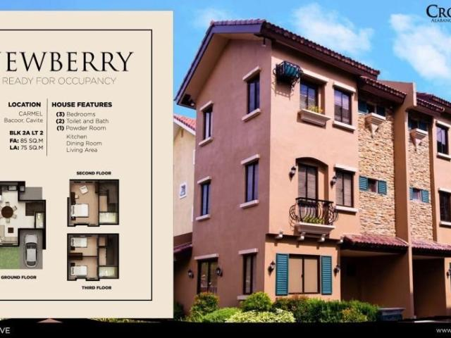 Rfo Newberry House And Lot At Bacoor Cavite