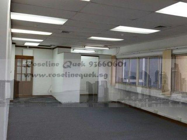 River/cbd City View Golden Mile Office In Beach Road, Central Singapore For Sale