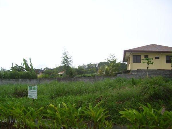 Robinson`s Highlands Residential Lot