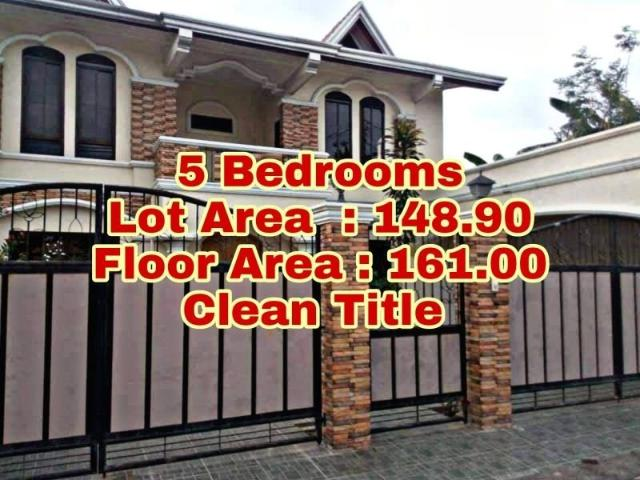 Rosewood Village House For Sale In Bacoor 5 Bedroom