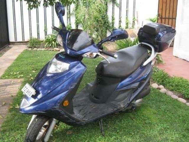 Scooter euromot hj 125t 11a año 2008 4 500 km