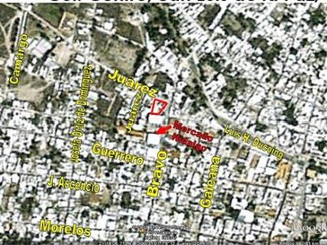 Se Vende Terreno Con Construccion Col. Centro